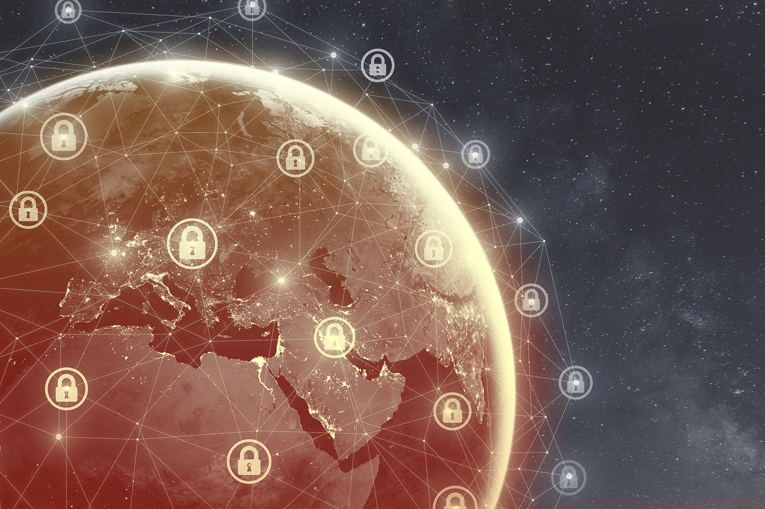 Locks placed in network around globe